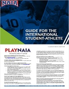NAIA international student guide
